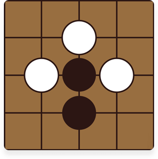 Black can escape by extending